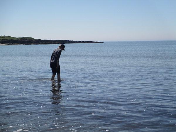 les pieds dans l'eau, Morbihan 2013