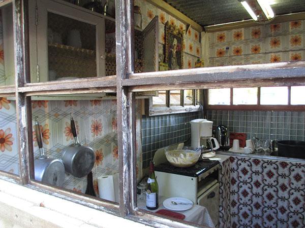 intérieur restitué années 40-50