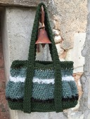 sac en grosse laine